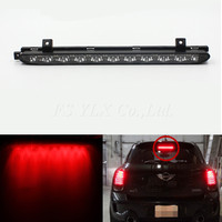 FSYLX Third 3rd Brake Light for MINI Cooper R56 R57 R58 R60 smoke lens Mini Cooper R56 hatchback led rear third brake light
