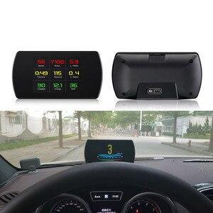New P12 OBD2 Scanner Car HUD D