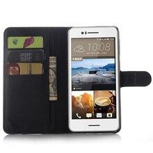 Cyboris Merk Voor HTC Desire 728 Leather Cover voor HTC Desire 728 Case Portemonnee Stijl Met stand en Kaarthouder met 9 kleuren