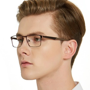 Image 5 - OCCI CHIARI 2018 אופנה מותג גברים טלאים רומן עיצוב מלבן עין משקפיים נקה עדשה אופטי מסגרות משקפיים W CERIONI