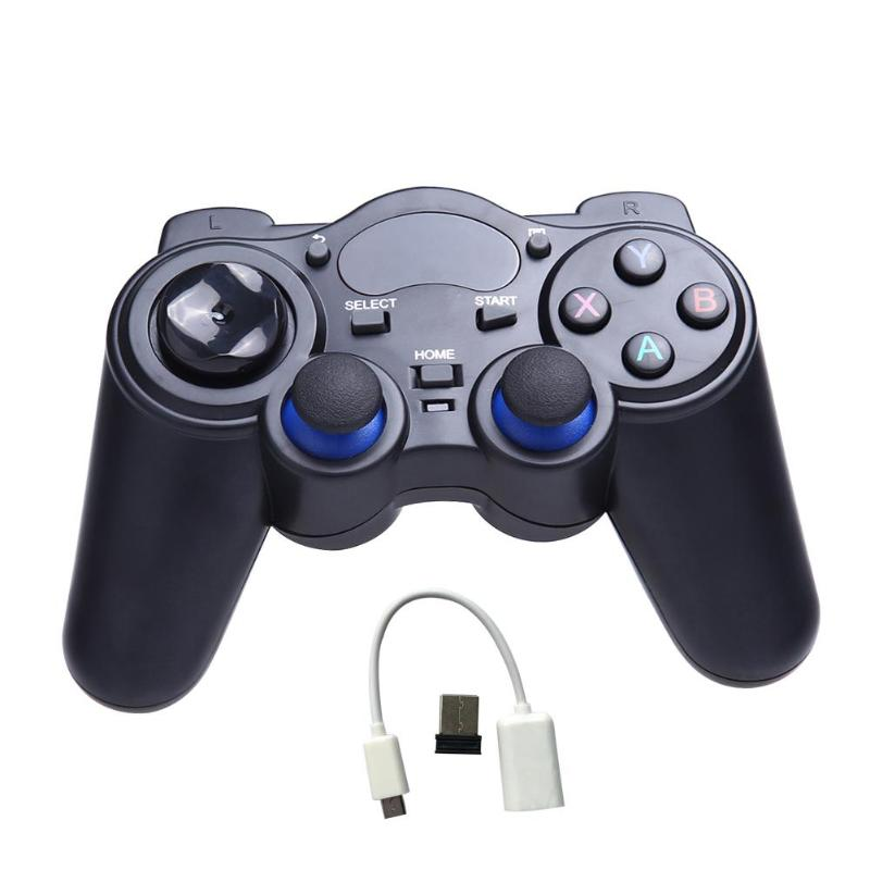 Universal 2.4G Wireless Game Gamepad Joystick for Android TV Box Tablets PC GPD XD Game Controller геймпад без фона