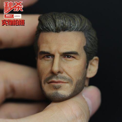 купить 1:6 Scale Soccer Star David Beckham Head Sculpt For 12
