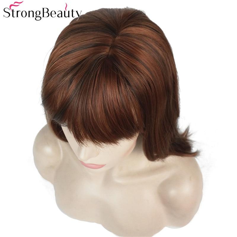 Ισχυρή ομορφιά Συνθετική Long Straight - Συνθετικά μαλλιά - Φωτογραφία 6