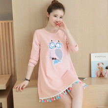Cotton Linen Maternity Dresses Spring Autumn Long Sleeve Clothes for Pregnant Women Clothing for Pregnancy 2016 New Fashion B256