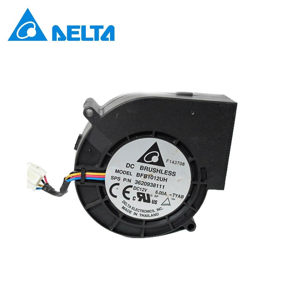 Delta Nouveau 9733 super grand sec machine ventilateur fan violence 12 V 6A BFB1012UH 97*97*33mm