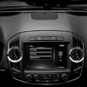 Image 3 - 車発光ゲージ時計クリップ自動車エアベントクォーツ時計美しいと実用的な電子時計スタイリングベンツ bmw