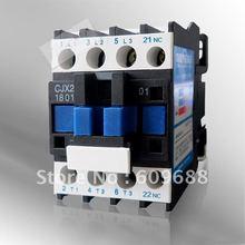 Высокое качество контактор переменного тока 18A(LC1) CJX2-1801 220 V 380 V 36 V серебро контактное лицо