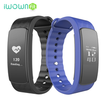 IWOWNFit i3 HR Heart Rate Monitor Smartband Браслет Фитнес-Трекер Активности Умный Браслет для Android IOS Телефон