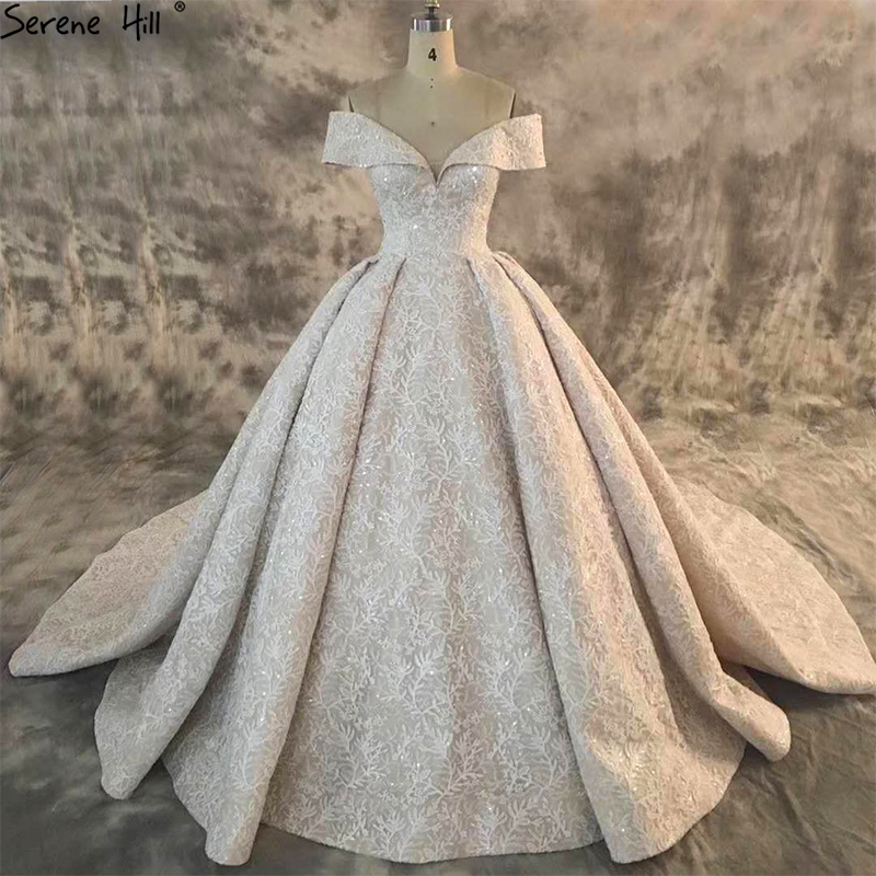 Hot Sale Dubai New Composite Lace High-end Wedding Dress 2018 Off ...