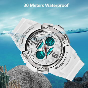 SANDA Kids Sport Watches LED Digital Children Watch Kids Watch Waterproof relogio masculino Boys Girls Alarm reloj hombre 2