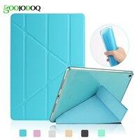 4 Shapes TPU Soft Smart Case For Ipad Air 2 1 Ipad 5 6 Leather Glitter