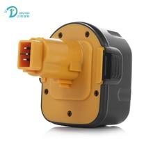Для DeWalt DE9071 12 В 3000 мАч Аккумулятор Электроинструмент Батареи для Буровых DE9074 DE9075 DE9501 Ni-Mh DC9071 DE9037
