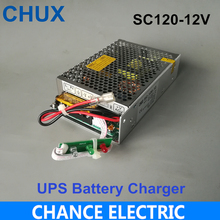 120W 12V 10A 스위칭 전원 공급 장치 범용 AC UPS/충전 기능 모니터 스위칭 전원 공급 장치 (SC120W 12)