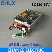 Fuente de alimentación conmutada Universal AC UPS, 120W, 12V, 10A, función de carga, Monitor, fuente de alimentación conmutada (SC120W 12)