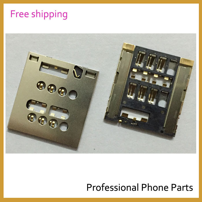 100% Original For Sony Xperia Acro S LT26W Sim Card Reader Holder Sim Slot Tray Replacement, Free Shipping