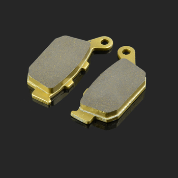 Motorcycle Rear Brake Pads Fit For HONDA FES 125 150 NSR250 VT 250 CB 400 500 CBR 400 500 NX 650 XL 700 NC 700 VTR 250-9 XRV 750 image