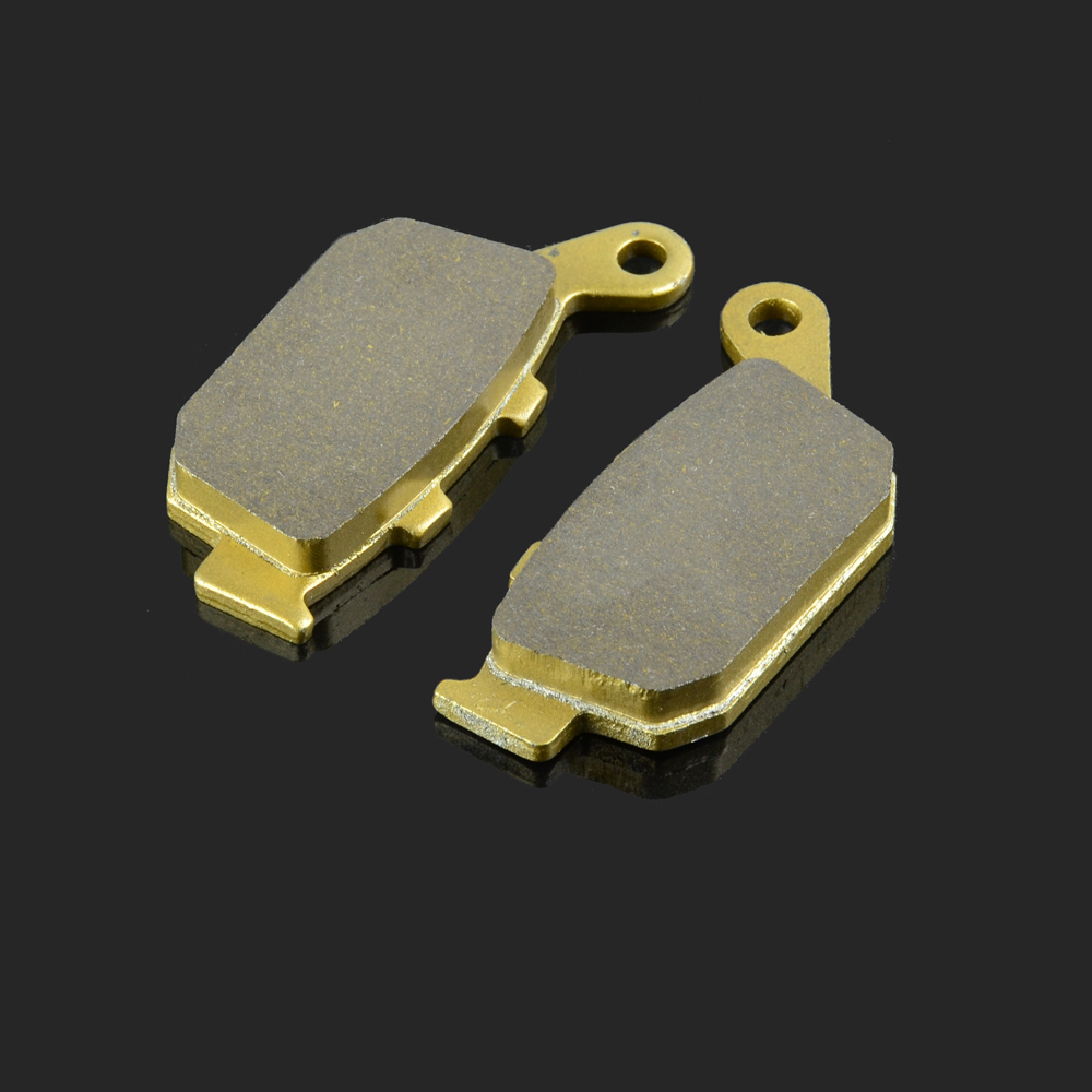 Motorcycle Rear Brake Pads Fit For <font><b>HONDA</b></font> FES 125 150 NSR250 VT 250 CB <font><b>400</b></font> 500 CBR <font><b>400</b></font> 500 <font><b>NX</b></font> 650 XL 700 NC 700 VTR 250-9 XRV 750 image