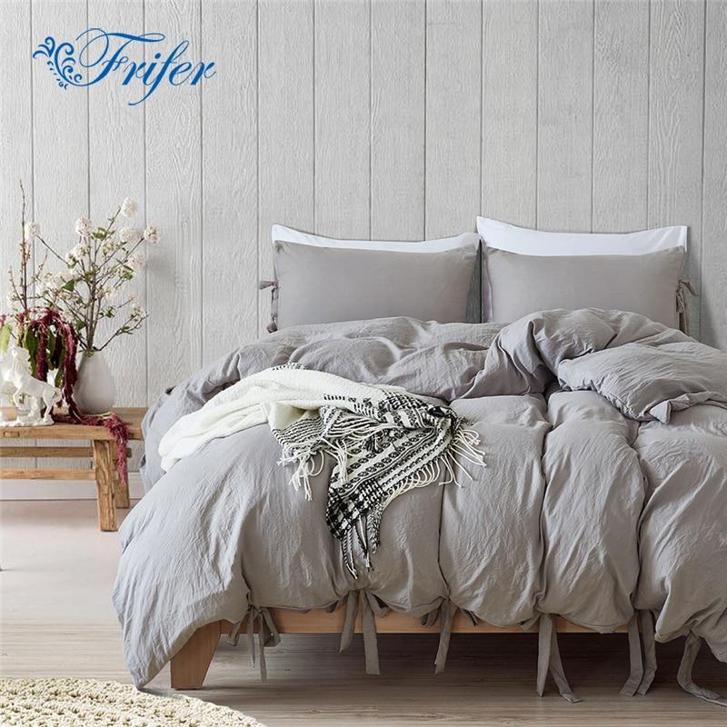 Pillowcase Bedding-Sets Bedspread Sheet Comforter Duvet-Cover Bedroom No Simple-Style