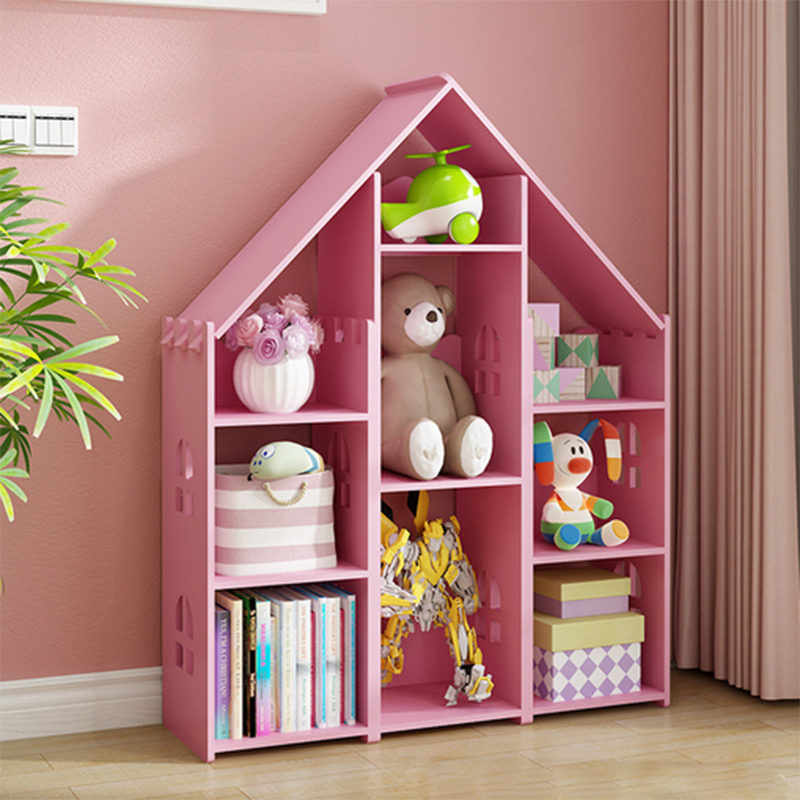 creativity Children in the bookcase bookrack Students toy storge cabinet Magazine rack toy shelf