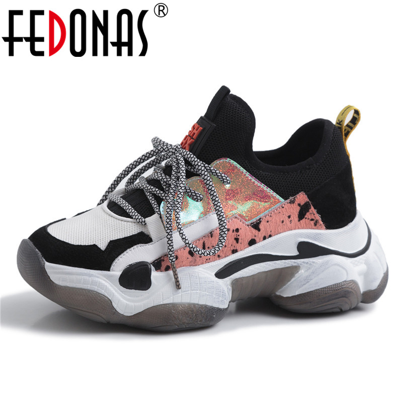 FEDONAS Fashion Breathable Casual Shoes 2019 Spring Summer Sneakers Basic Women Flats Classic Design Shoes Horsehair