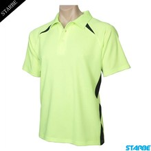 Golf-Shirts High-Quality Mens Summer Polyester Cool Dry Sports