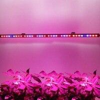 1pc 54W 방수 Led 온실 Hydroponics 법에 대 한 빛 바 스트립 램프를 성장 실내 상업 식물 채식 꽃 성장 텐트