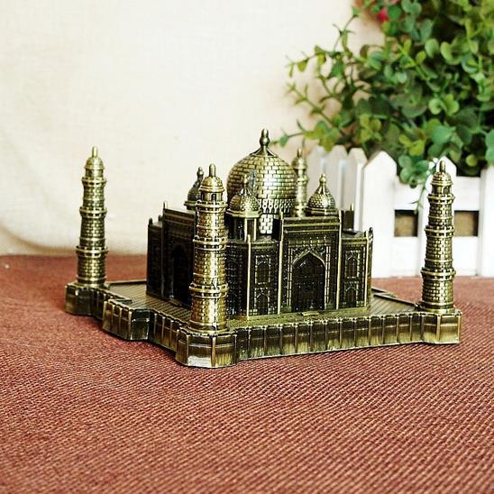 Berühmte Architektur 8 5 cm höhe metall handwerk indien berühmte architektur taj mahal