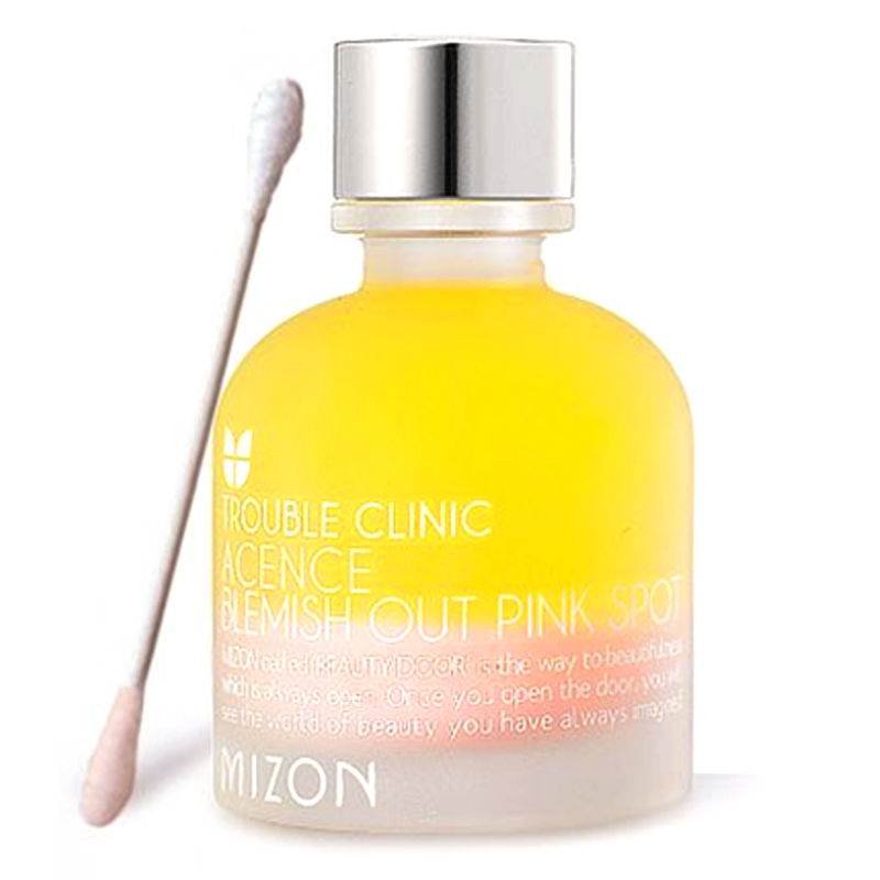MIZON Acence Blemish Out Pink Spot 30ml Face Essence Skin Care Acne Scar Removal Cream Acne Spots Treatment Facial Serum it s skin power 10 formula li effector 30ml [ skin tone recovery ] face cream serum helps your skin to be even bright clean