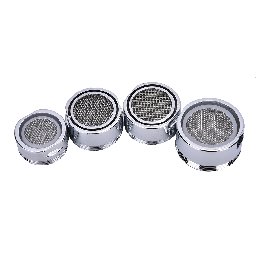 20/22/24/28mm Water Bubbler Swivel Head Saving Tap Faucet Aerator Connector Diffuser Nozzle Filter Mesh Adapter