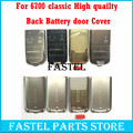 For Nokia 6700 6700c 6700 classic High Quality New Mobile Phone Housing  Back Battery Door  Cover Case  ( No Keypad )