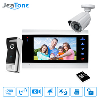 7 Video Door Phone Doorbell Intercom Access Control Intercom System Motion Detection Extra 1200TVL Outdoor Camera