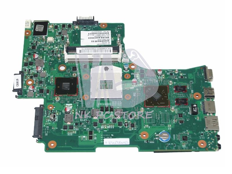 V000218030 Notebook PC Main board For Toshiba Satellite L650 L655 Motherboard System Board HM55 DDR3 ATI HD Discrete Graphics notebook pc motherboard for lenovo v360 main board system board 48 4jg01 011 ddr3 305m discrete graphics