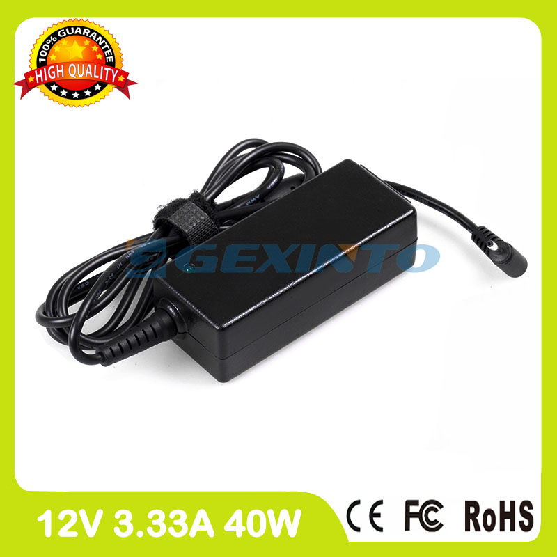12V 3.33A 40W ac power adapter BA44-00294A laptop charger for Samsung ATIV Tab 3 XE300TZC Tab 7 XE700T1C Chromebook XE503C32