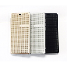 Original Leagoo Elite 1 Flip Leather Case With Stand Function White Black Gold Color Available Leagoo Elite 1 Mobile Phone Cover