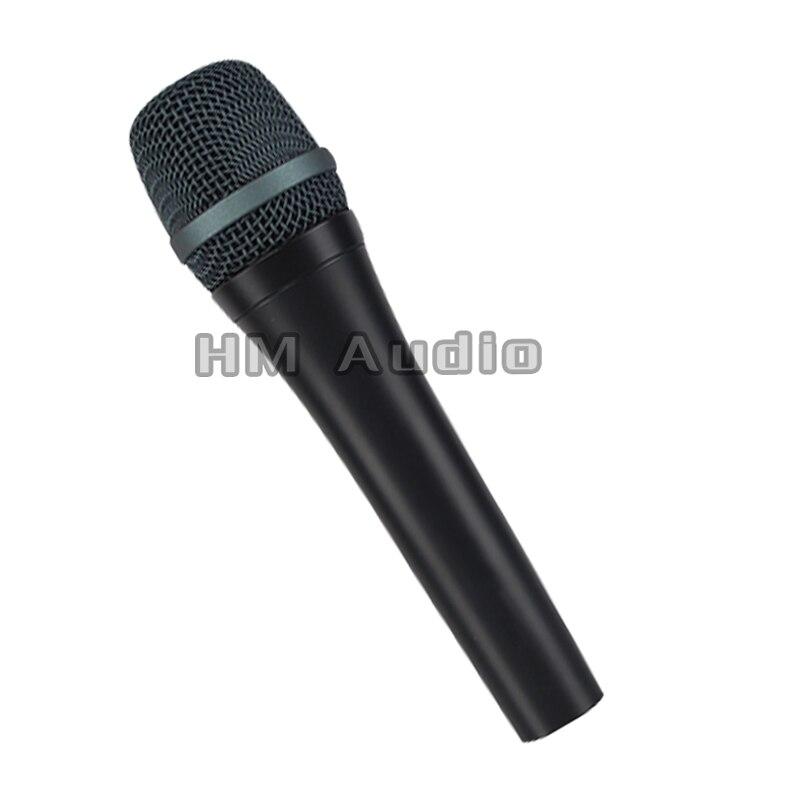 Frete grátis! Qualidade superior 945 profissional karaoke dinâmico super cardióide vocal microfone com fio microfone microfono