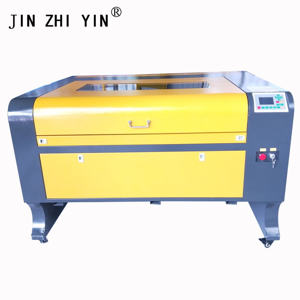 1080 80W Co2 Laser Engraving Machine Nonmetal Material Fabric Plywood Laser Engraver With Ruida 6442s Controller