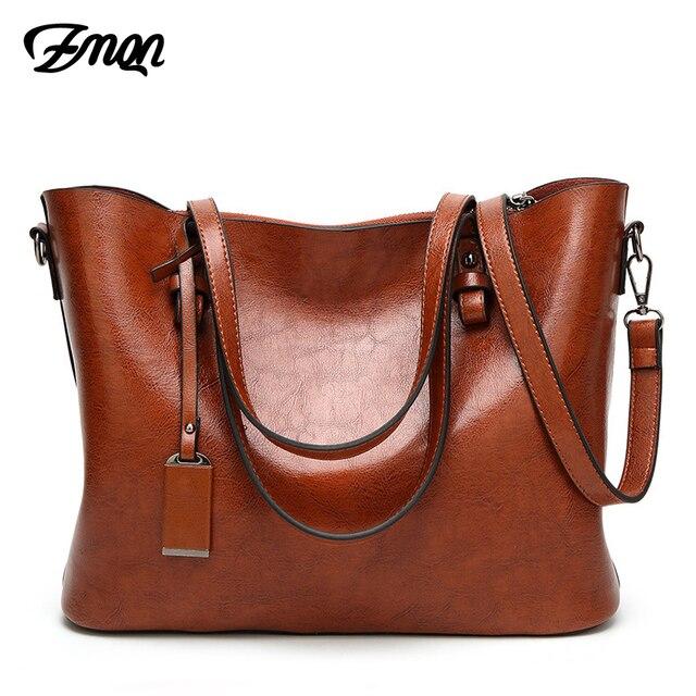 ZMQN Bolsas para As Mulheres Famosa Marca de Couro Bolsa de Ombro Fêmea Grande Capacidade Simples Casual Tote Hand Bag Bolsa Sac Femme c837