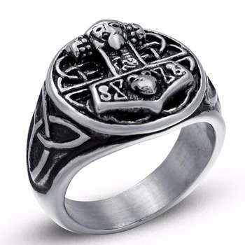 Bague ancre Thor  2
