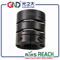 GLB 45# Steel 8 screw high rigidity double diaphragm Clamp Series GLB 65X77 25X35 GSB 65X55.5 20X35 shaft coupling