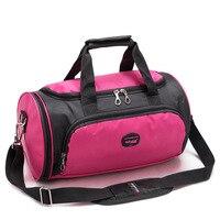 Men Sport Gym Bag Lady Women Fitness Travel Handbag Outdoor Backpack With Separate Space For Shoes Sac De Sport Rucksack