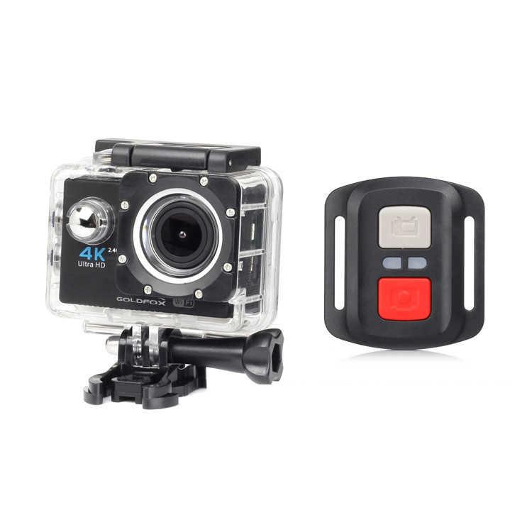 Экшн-камера Ultra HD 4 K WiFi Пульт дистанционного управления спортивная видеокамера 1080 P Go Водонепроницаемая pro спортивная DV DVR мини-камера с защитным корпусом