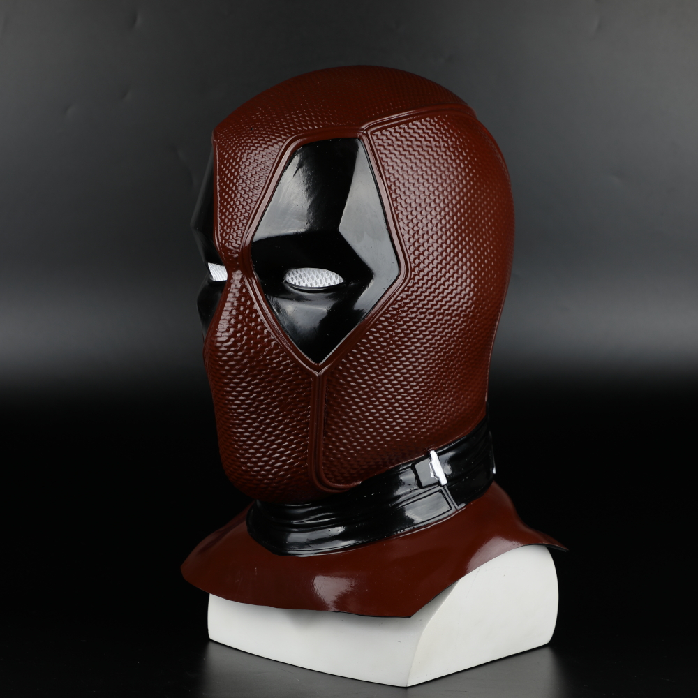 2018 New Moive Deadpool 2 Mask Breathable PVC Full Face Mask Halloween Cosplay Props Wholesale Hood Helmet On Sale!!! (22)