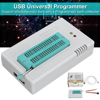 XGecu TL866II Plus USB Programmer for 15000+IC SPI Flash Nand Eeprom Mcu Pic Avr Multifunctional Programmer Cable Set Circuits