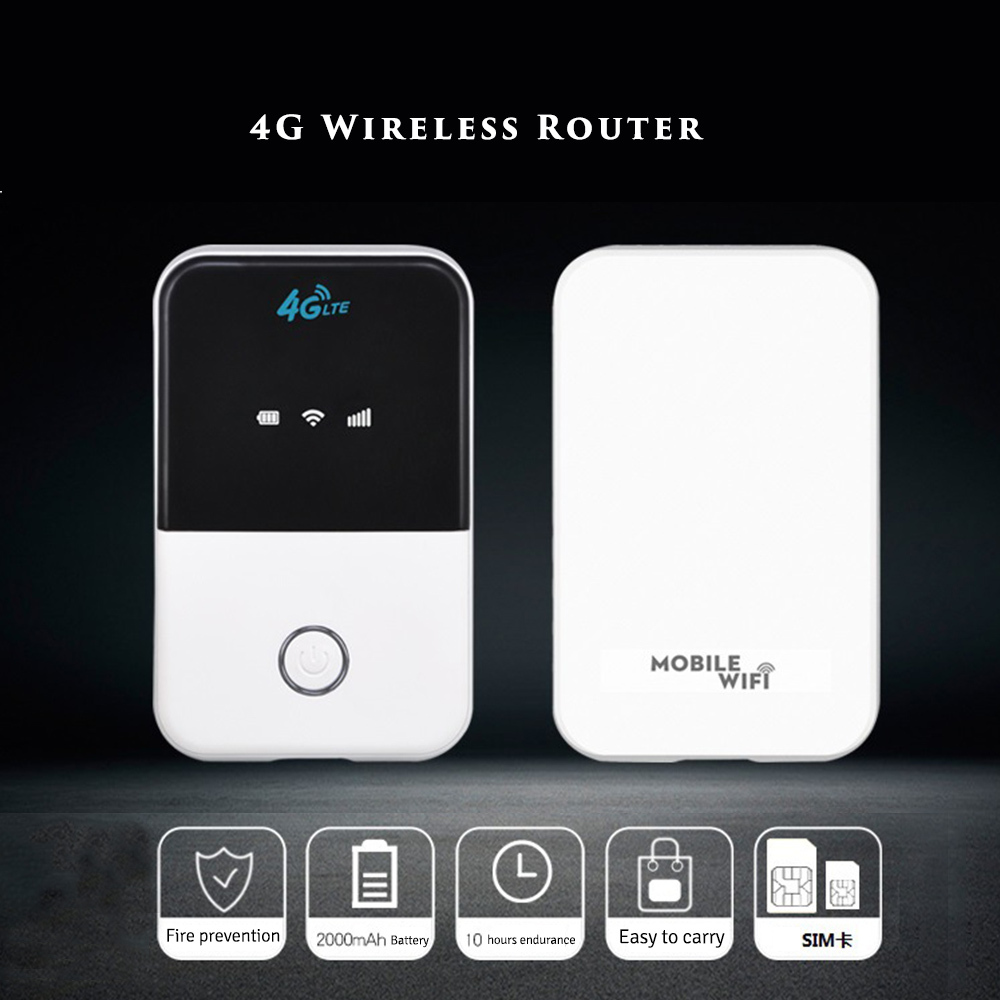 4G Wifi Mini Router Lte Wireless Portable Pocket Wi Fi Mobile Hotspot Car Wi-fi Router With Sim Card Slot hame a5 3g wi fi ieee802 11b g n 150mbps router hotspot black