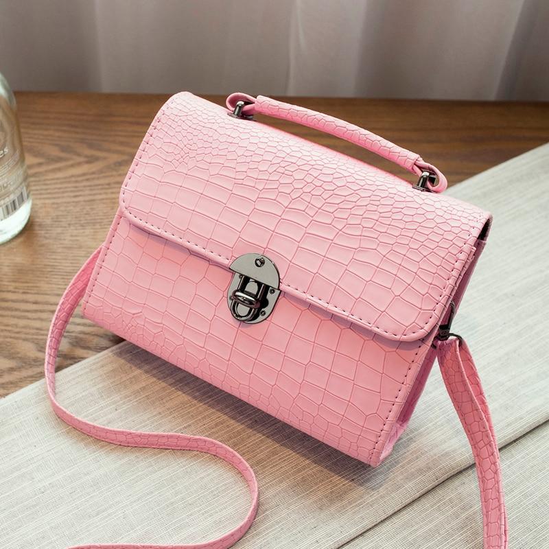 Kvaliteetne Macaron värvi klapi kott naiste messenger kotid värske - Käekotid - Foto 2