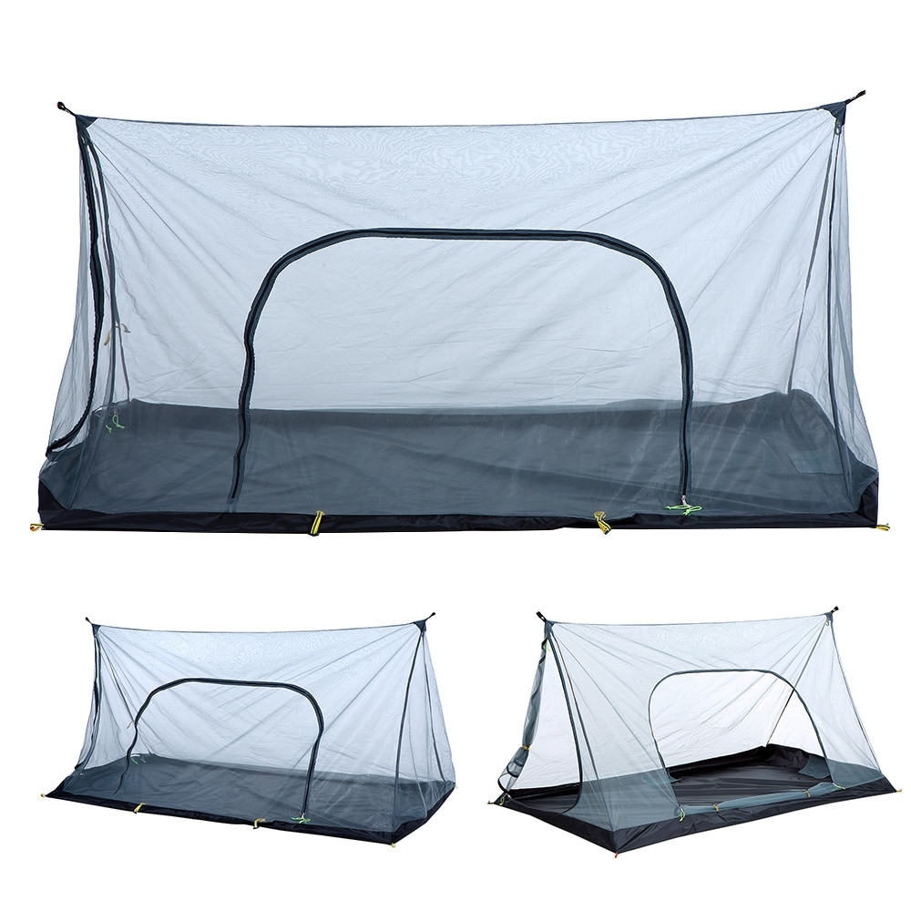 Outdoor Camping Mesh Tent Ultralight Hiking Tent Mosquito Insect Repellent Net Tent Guard Automatic Camping Sunshelter in Tents from Sports Entertainment