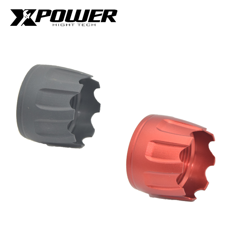 Image 1 - XPOWER Buttstock Stock Pipe For Airsoft AEG Hunting Accessories Aluminium Alloy Paintball Air Gun Outdoor Sports Pistol-in Paintball Accessories from Sports & Entertainment