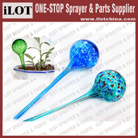 Free Shipping Glass Aqua Globes For Watering Garden Automatically DIA8 5 30cm