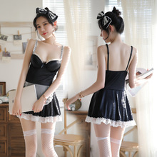 2019 sex lingerie cute woman apron maid uniform Cosplay temptation erotic suit sexy school Japanese Disfraz