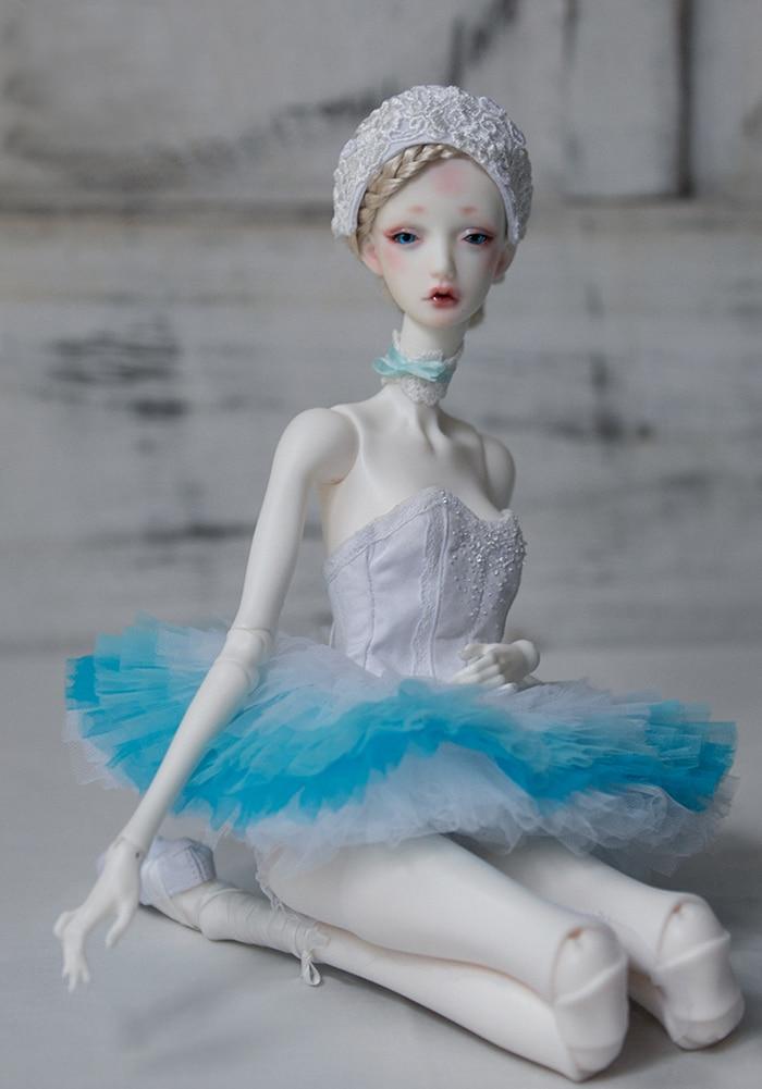 BJD 1/4 Cigno Bianco/Black Swan modello in resina figure giocattoli make up occhi liberi HeHeBJD giocattoli di Alta Qualità-in Bambole da Giocattoli e hobby su  Gruppo 1